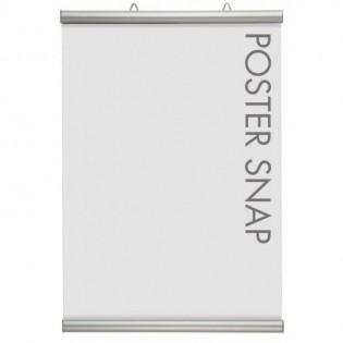 Porte affiche Poster Snap - Système d'accrochage suspendu et discret pour affiches et posters
