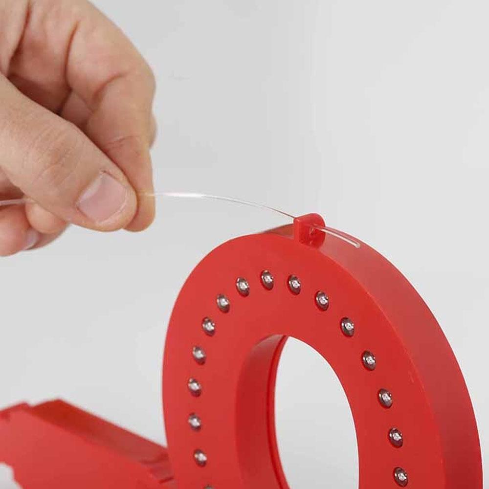 Chiffre 4 Smart LED - Chiffre couleur rouge pour enseigne lumineuse LED