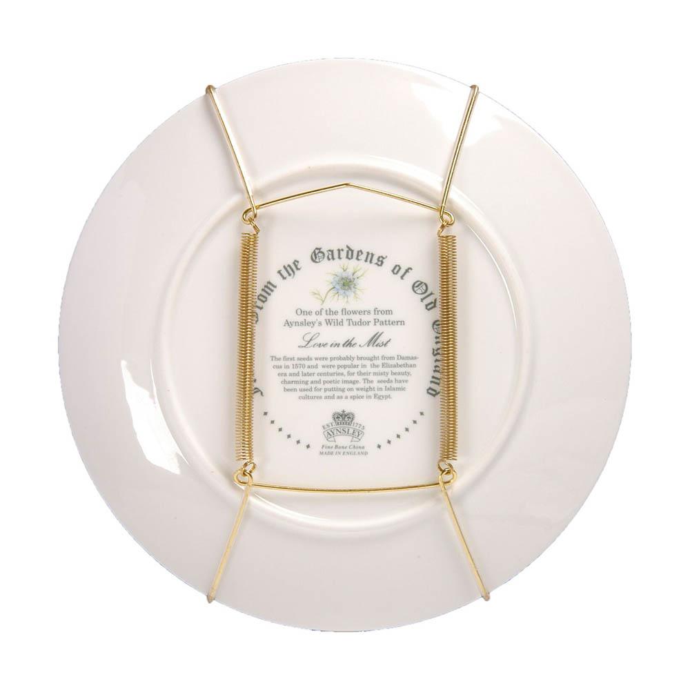 25 à 36 cm : Crochet laiton pour assiette