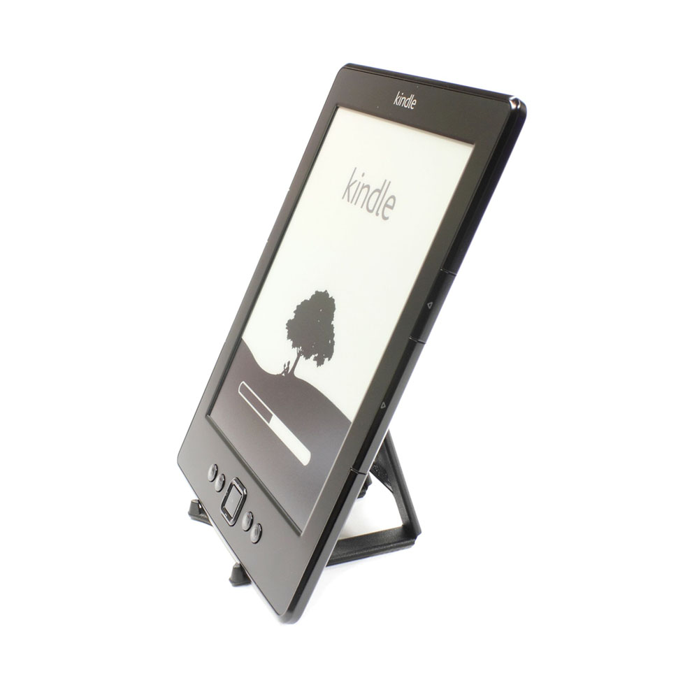 Support de bureau pliable pour tablette, liseuse, Kindle - Couleur noir - Support tablette modèle MEDIUM