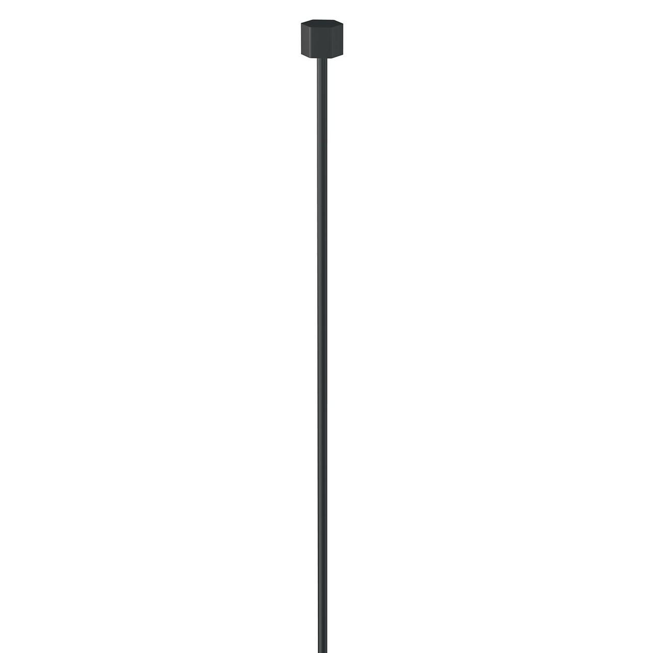Fil en acier noir 200 cm