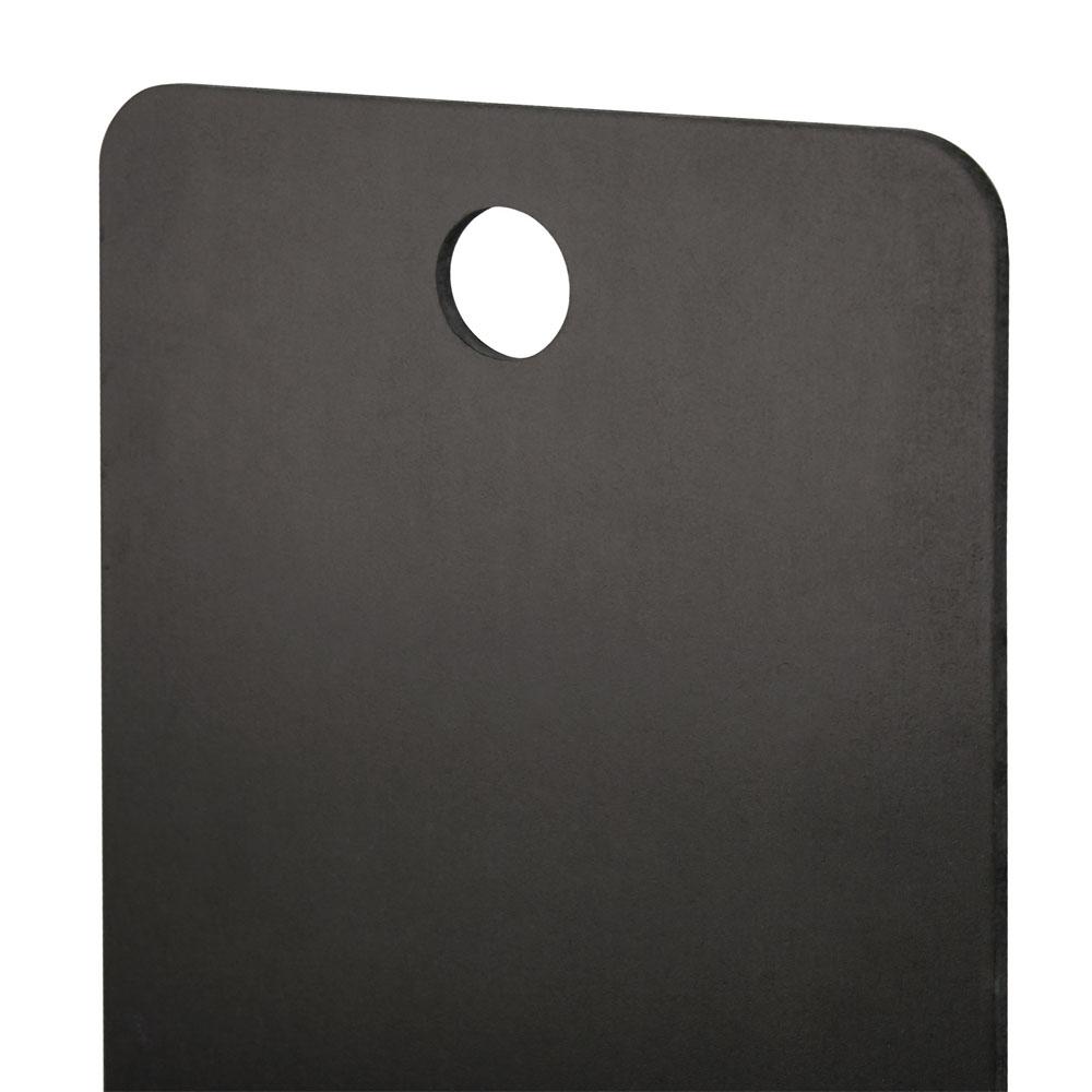 Ardoise à suspendre couleur noire format 55 cm x 100 cm - Présentation murale pour menus hôtel restaurant