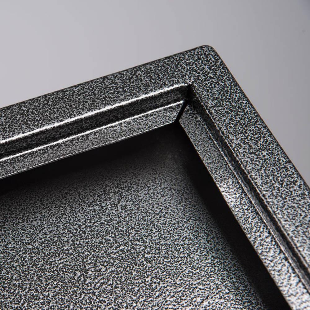 Porte-menu Black Hammer 3A4 couleur gris/noir matelé