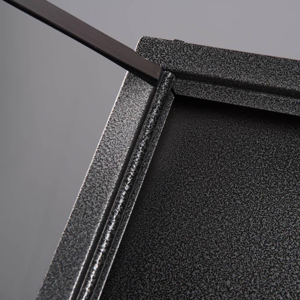 Porte menu extérieur Black Hammer 3 x A4