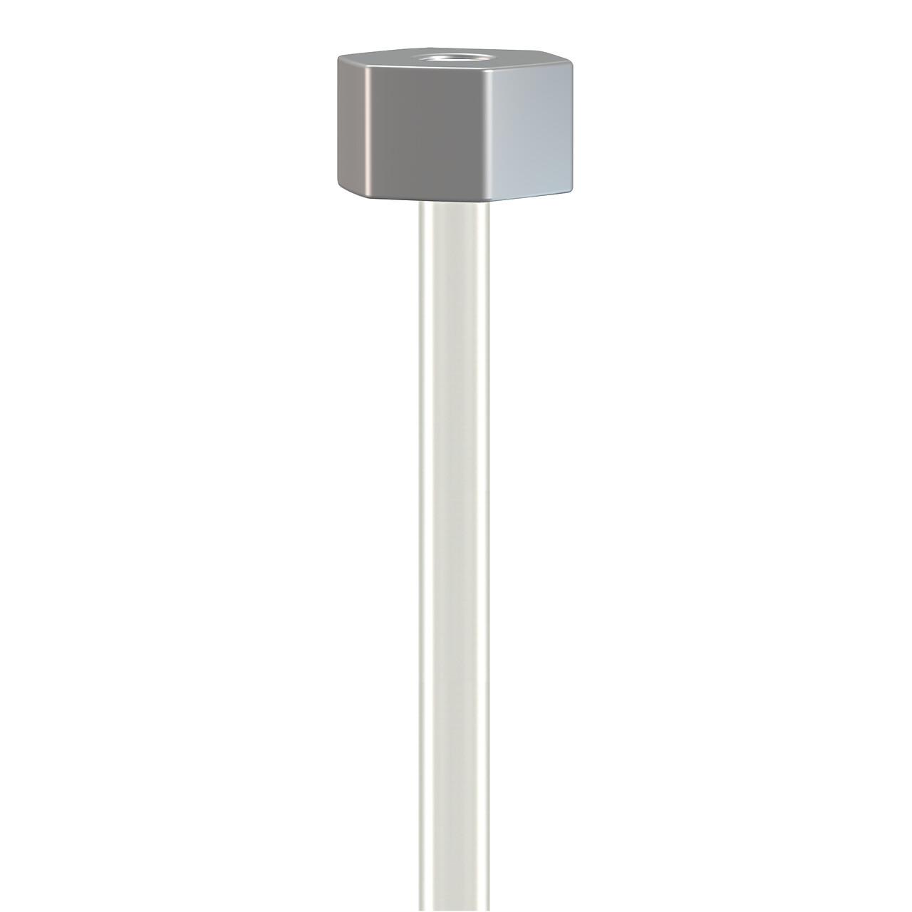 Lot de 10 câbles perlon Slider - Câbles transparents pour accrochage et affichage suspendu