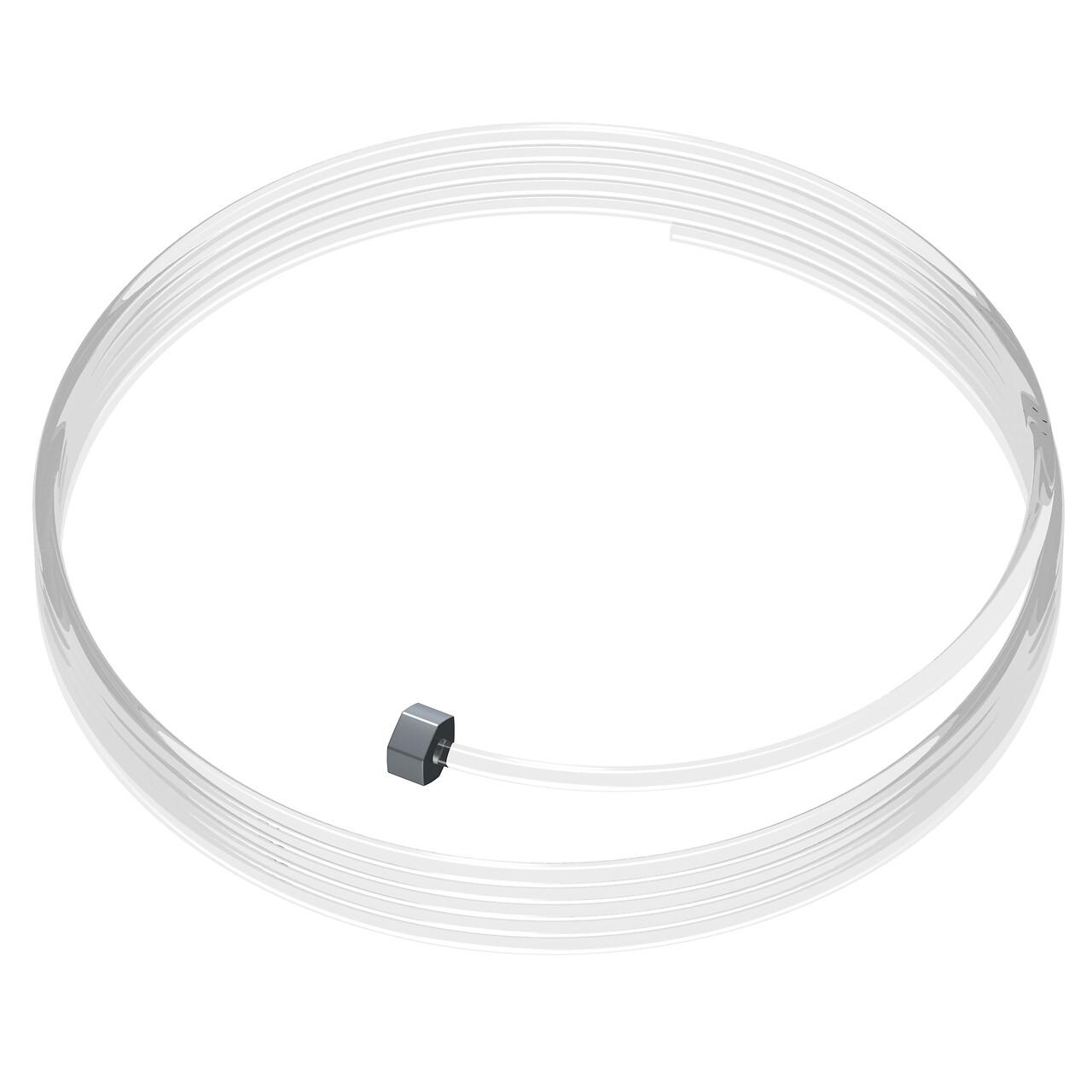 Lot de 10 câbles perlon Slider - Câble transparent pour accrochage et affichage suspendu