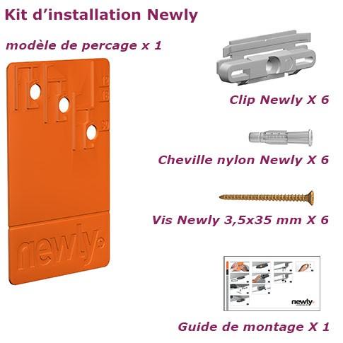 Newly kit d'installation 2m.