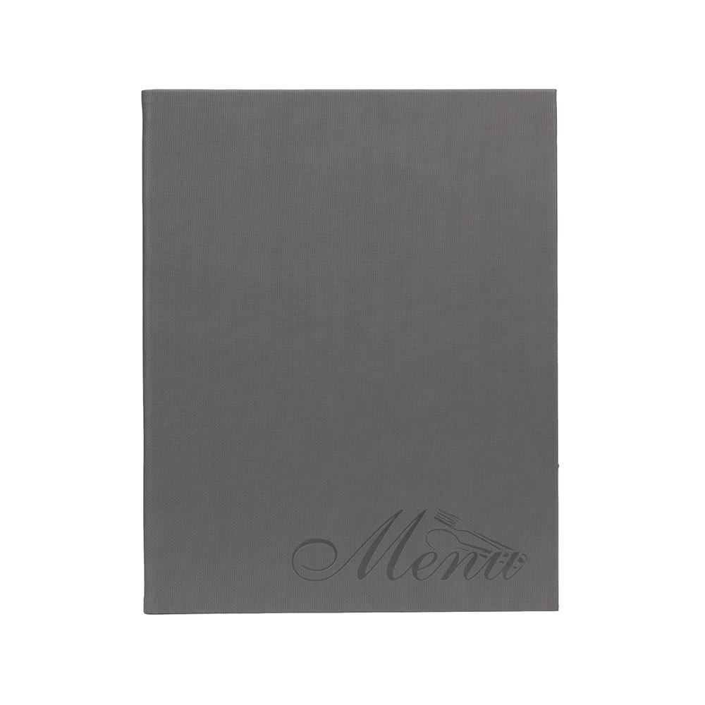 Lot de 10 protège menu Design Velvet - Présentation carte des menus pour hôtel restaurant