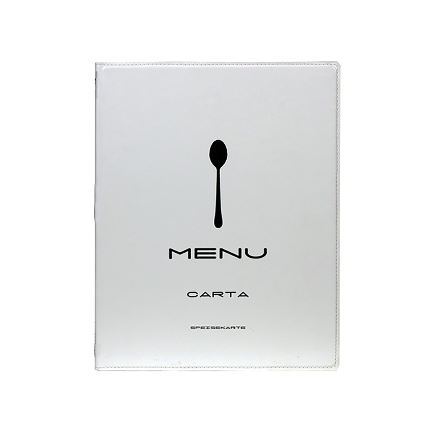 Protects-menus A4 Design White