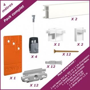 m: 4 Pack completo cimaise appena R10