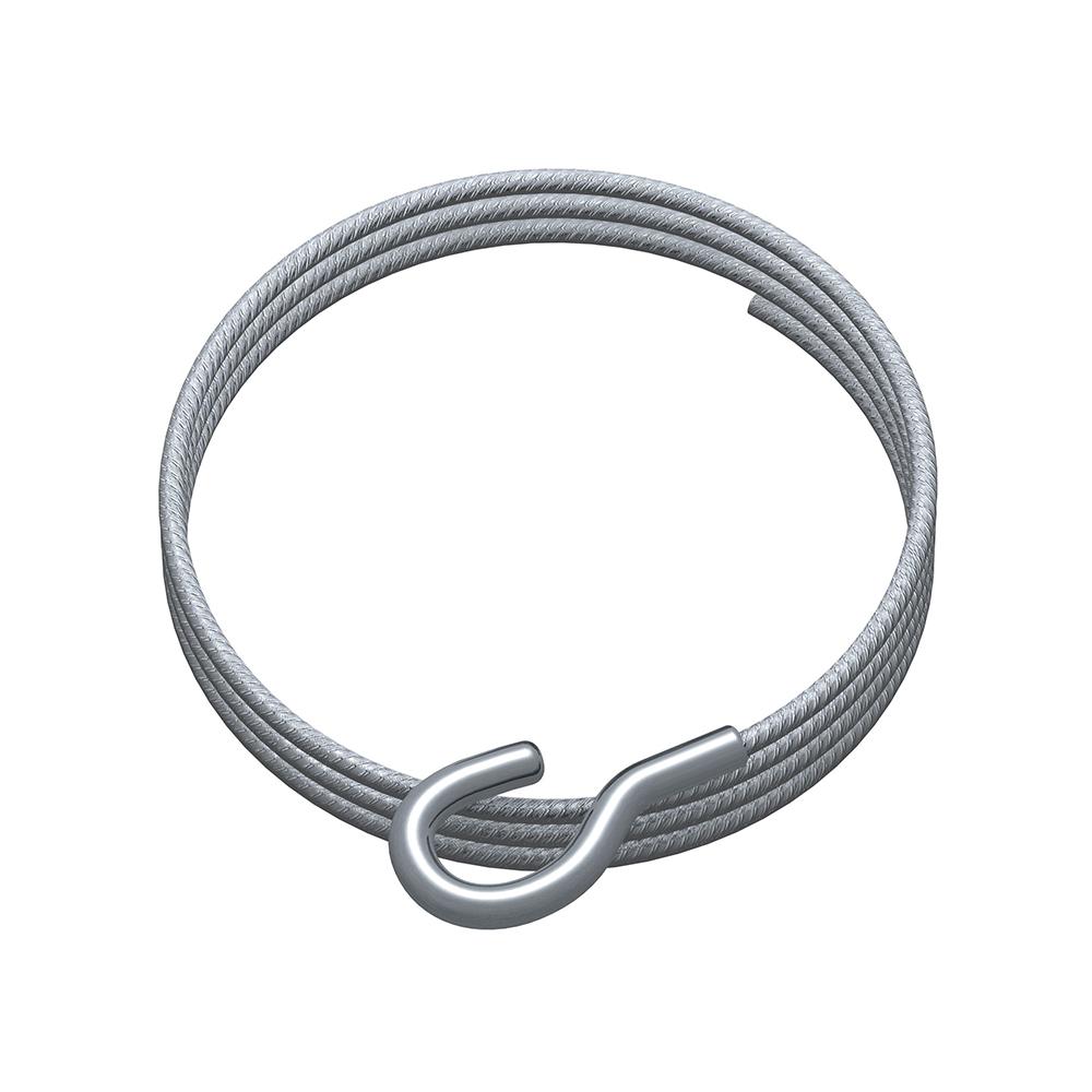Câble acier avec crochet