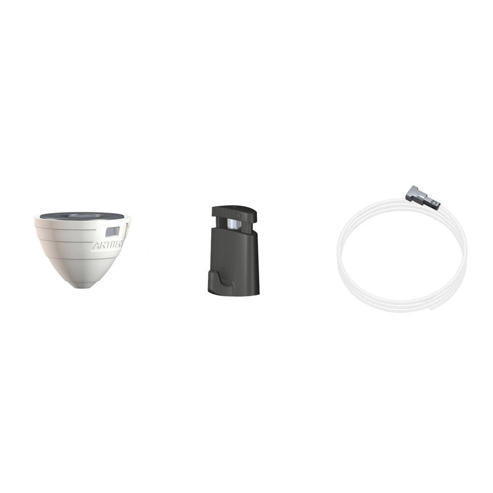 Kit complet Magnetic Ceiling Hanger : Charge 1 kg - Fixation magnétique suspendue pour faux plafond