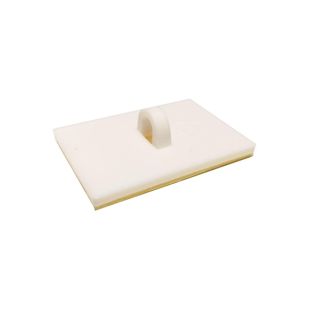 Crochet pastille adhésive rectangulaire pour faux plafond - Lot de 100