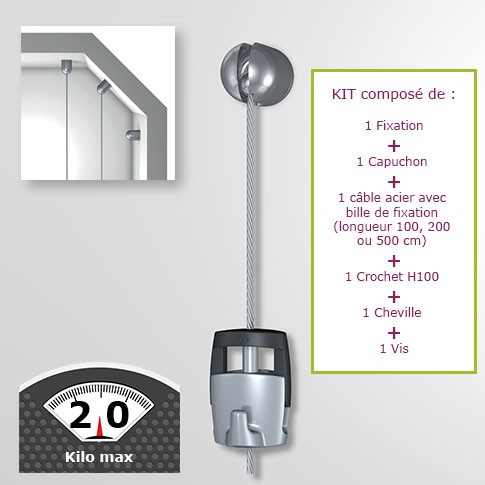 Kit Solohanger - Accrochage autonome