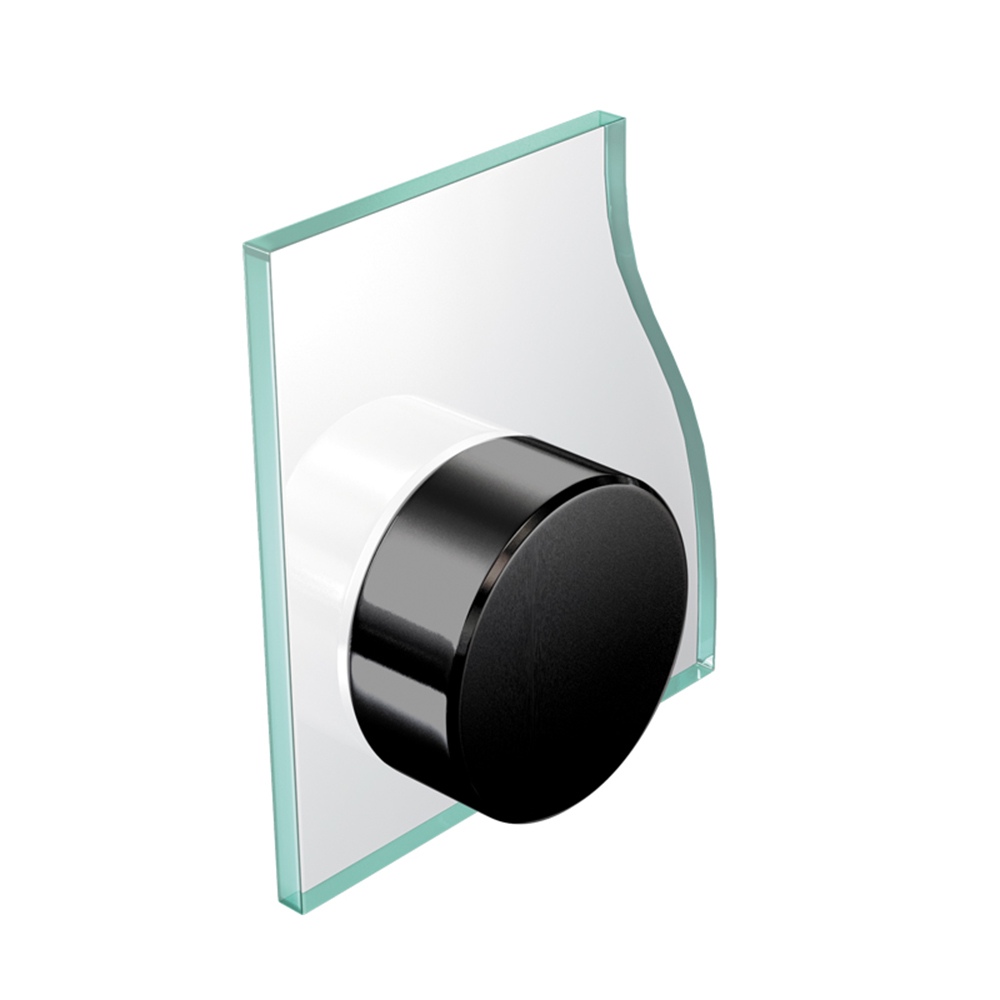 Cache vis noir 13 mm