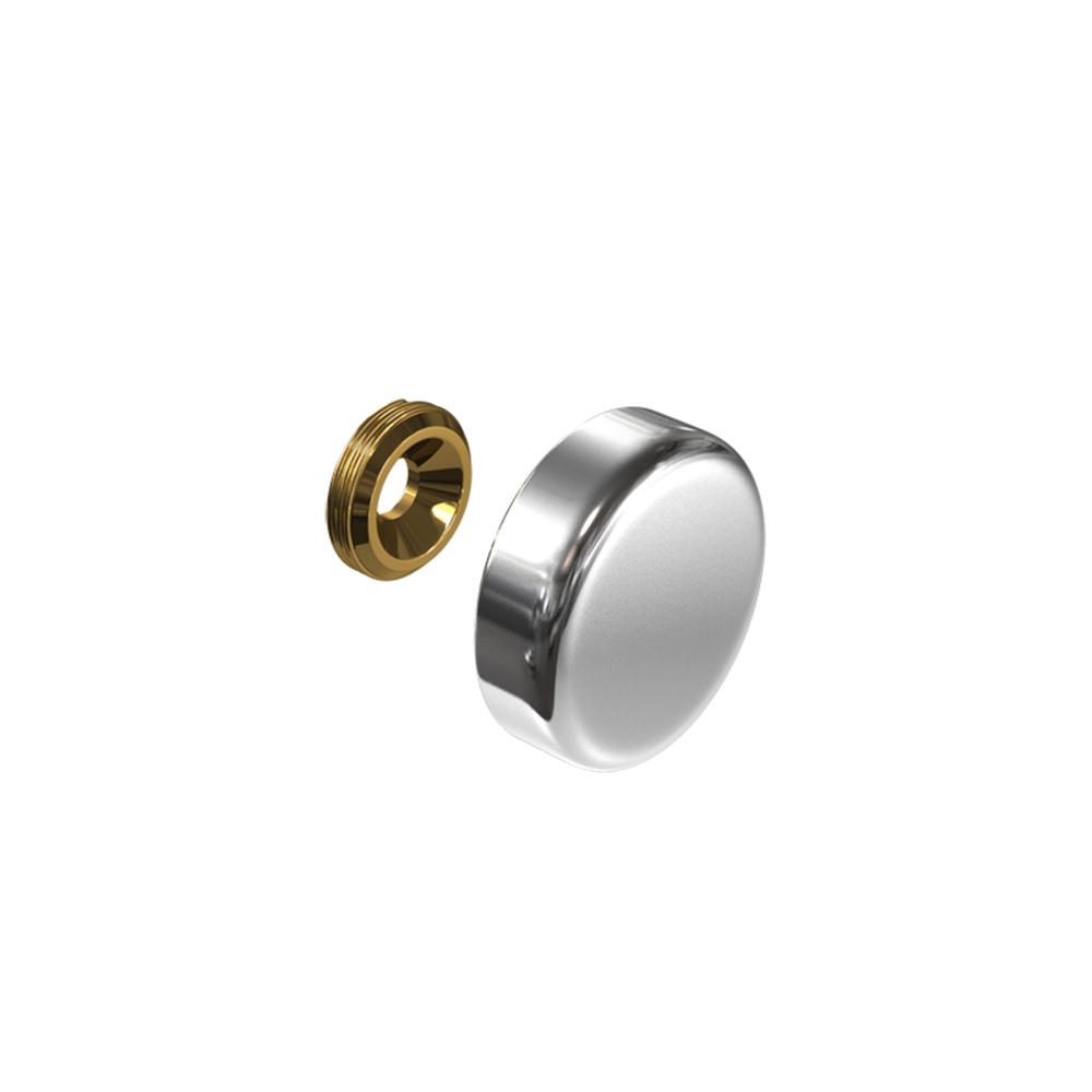 Cache vis aluminium 24 mm