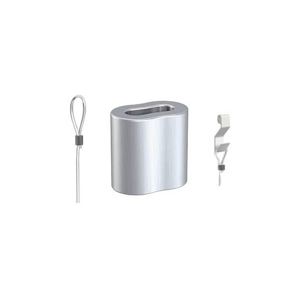 Kabelbinder - Hülse Nylon und Stahlseil