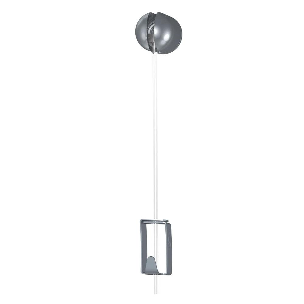 Kit Solo Hanger câble perlon Slider crochet autobloquant 4 kg - Accrochage autonome