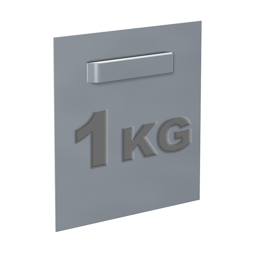 Adhesive attachment Dibond 45 x 45 mm: max 1 kg