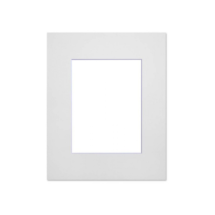 Passe partout standard blanc pour cadre et encadrement photo - Nielsen - Cadre 18 x 24 cm - Ouverture 10 x 15 cm