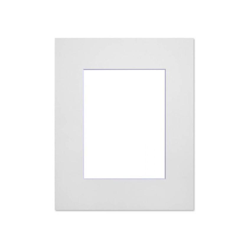 Lot de 5 passe-partouts standard blancs pour cadre et encadrement photo - Nielsen - Cadre 18 x 24 cm - Ouverture 10 x 15 cm