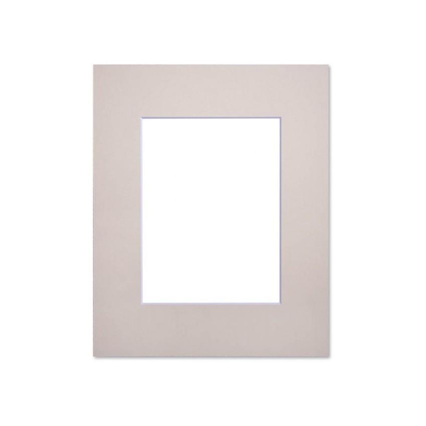 Passe partout standard beige Nielsen - Accessoires cadres et encadrement photo - Cadre 18 x 24 cm - Ouverture 10 x 15 cm