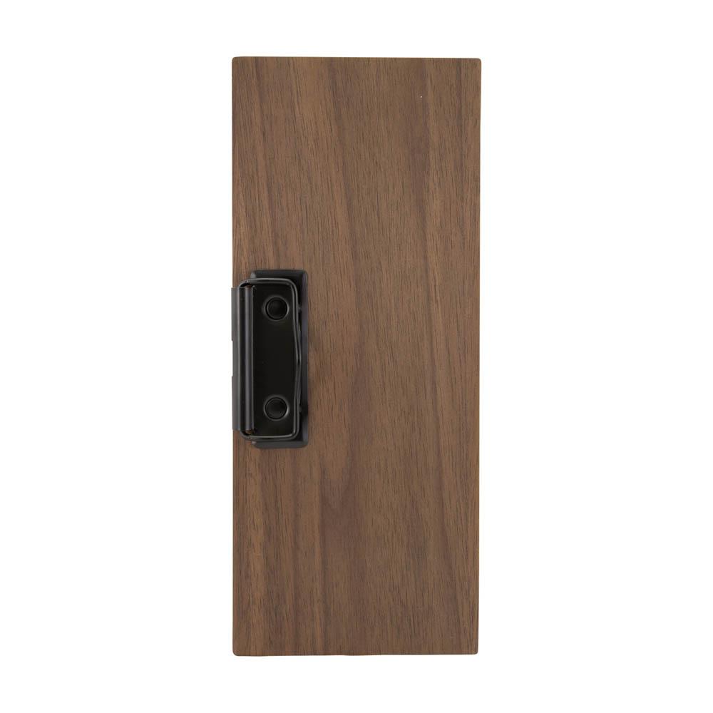 Porte addition avec pince modèle WALNUT