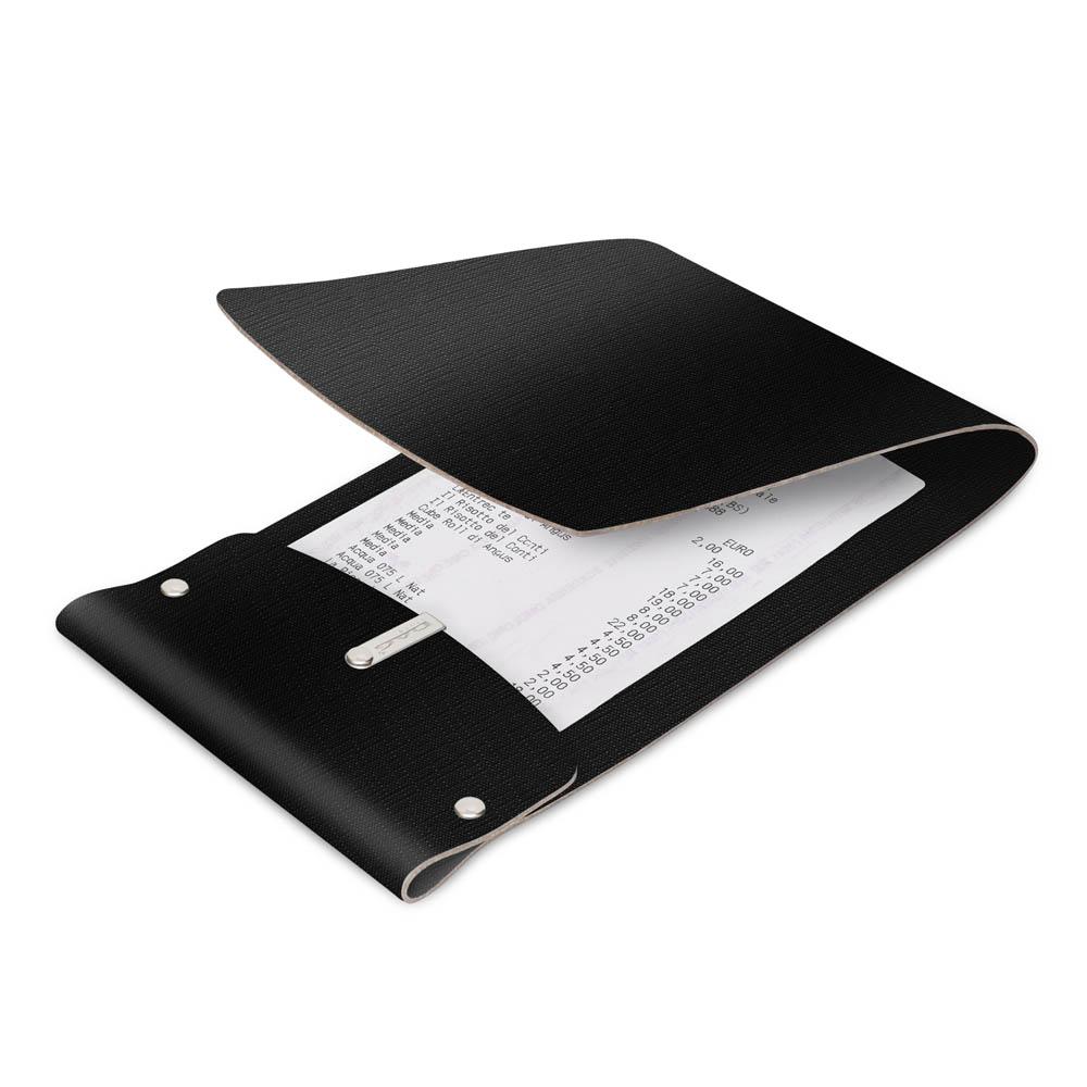 Porte-addition LIGHT en PVC Noir aspect jute