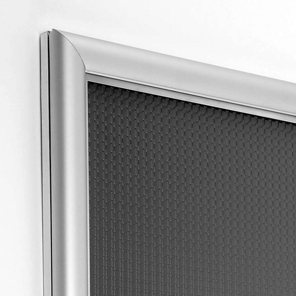 Cadre ouverture frontale Snap Frame A3 Classic profil alu 15 mm - Affichage mural - Cadre signalétique