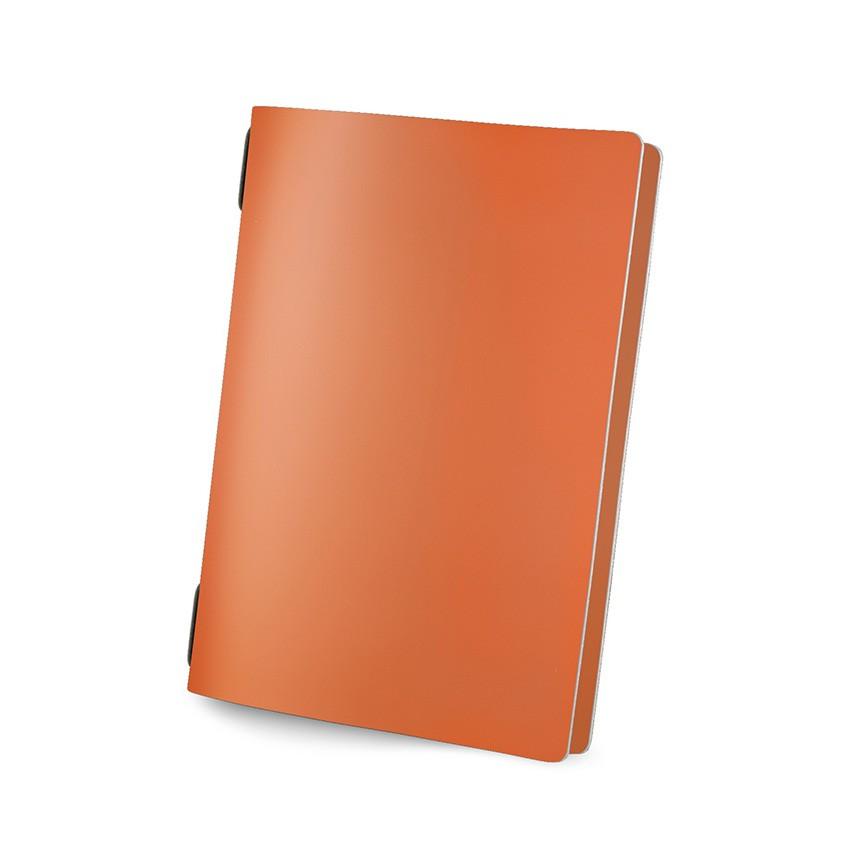 Protège menu GOLFO Fashion orange aspect lisse