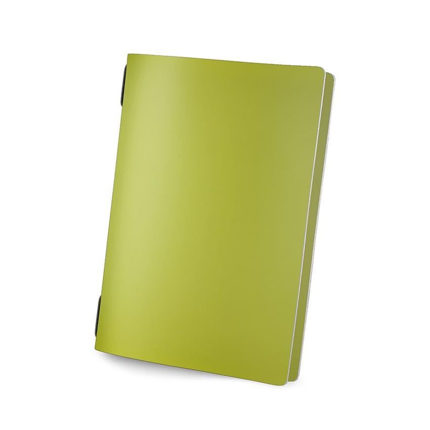 Protège menu GOLFO Fashion citron vert aspect lisse
