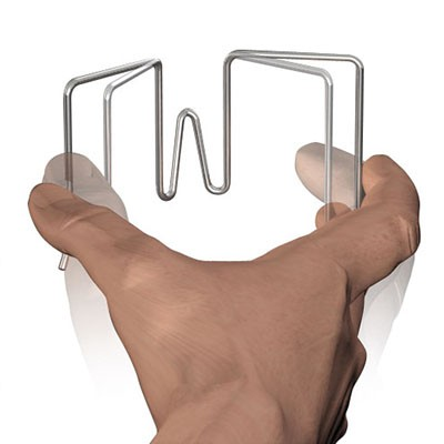 Crochet pour panneaux de stand