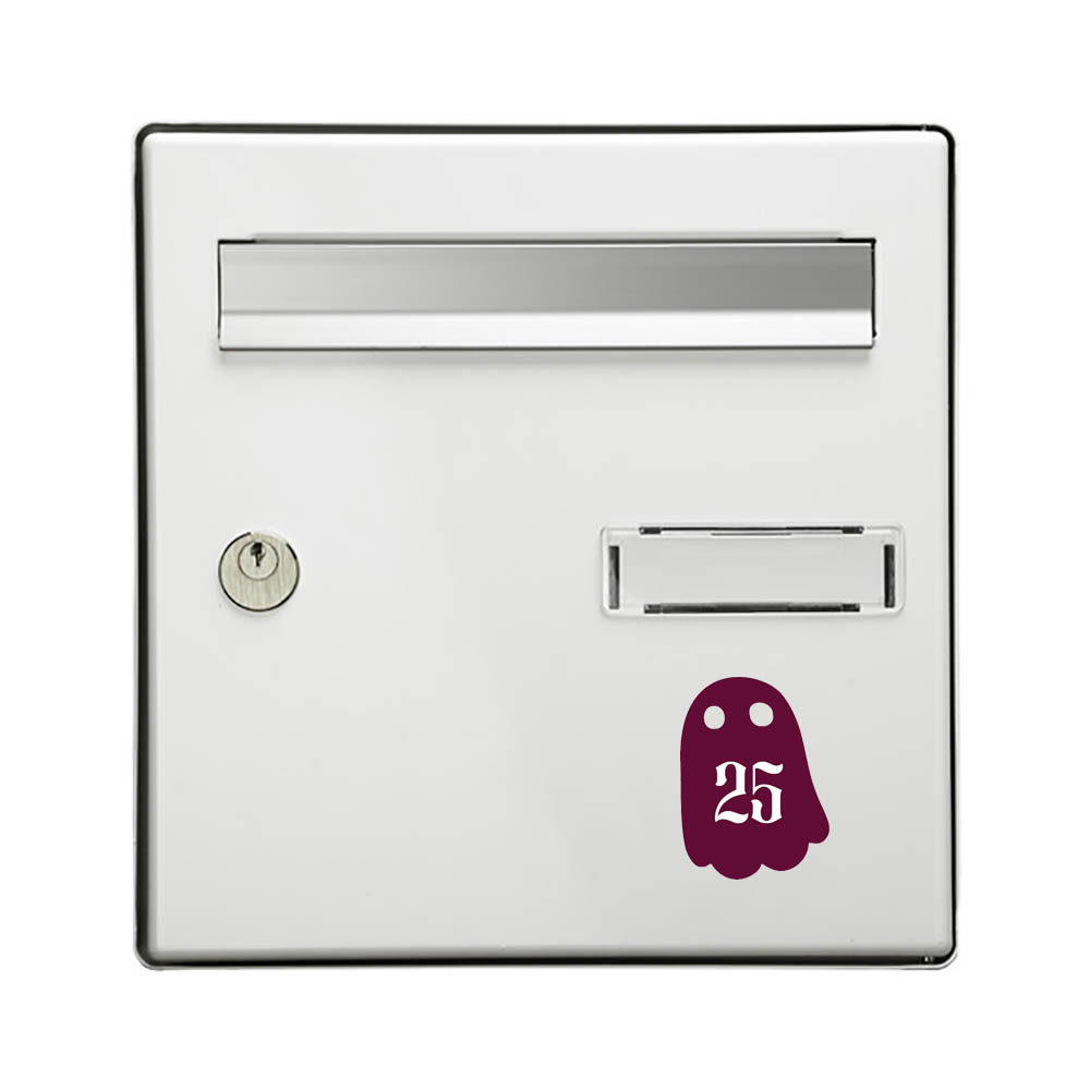 Ghost Mailbox Numbers